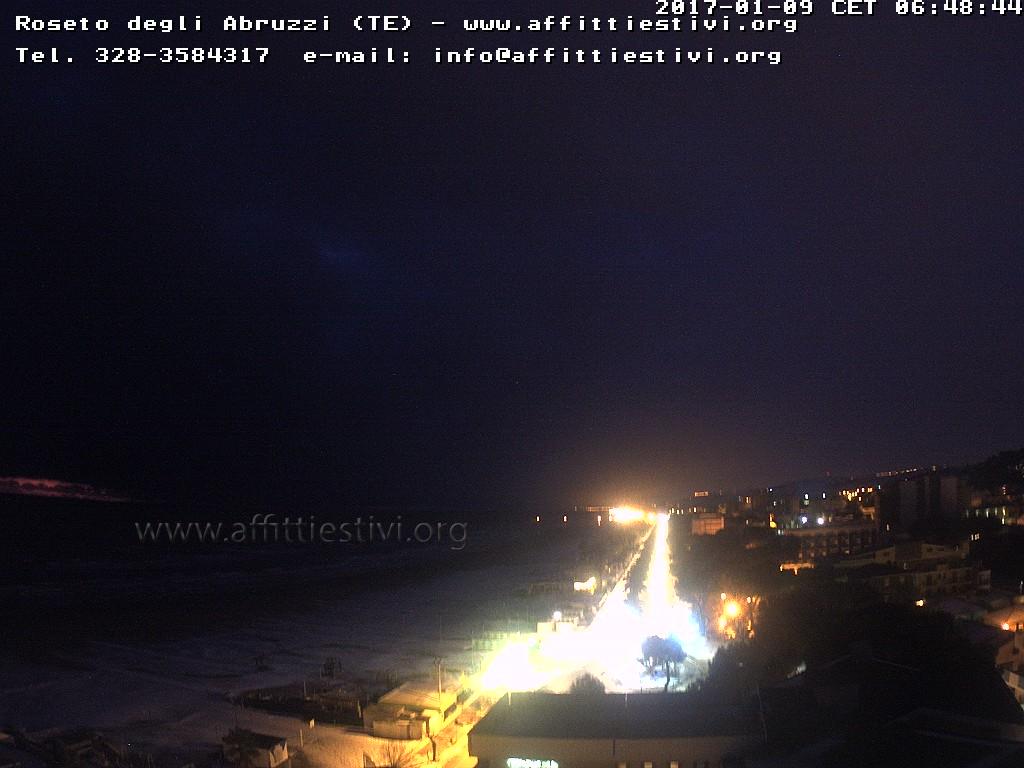Webcam nei dintorni di Teramo in Abruzzo